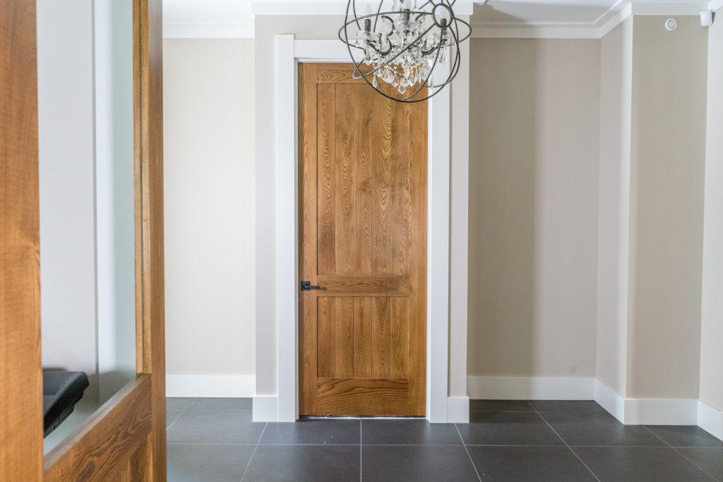 American White Ash timber interior doors
